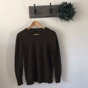 Rag & Bone Brown Wool Sweater S